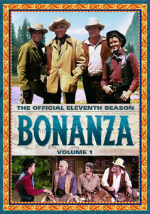 Bonanza: The Official Eleventh Season Volume One New DVD Boxed Set Full Fr $29.89