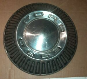 Vintage Ford Galaxie Fairlane Poverty Hubcap Wheel Covers 10 1 2 Inch Free Ship