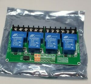 New 4 channel Dc 24v Volt 30a Relay Module Control Board Optocoupler Isolation