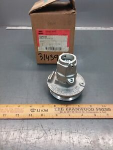 Nos Crouse hinds Gua0687 Explosion Proof Union Hub Fixture For 3 Cover To 3 4