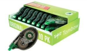 Tombow Original Correction Tape 10 pack Easy To Use Applicator For Instant Cor