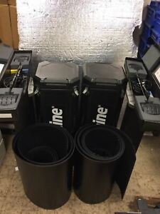 Skyline Mirage 2 14866 Pop Up Displaying Performance Cases W lights Trade Show