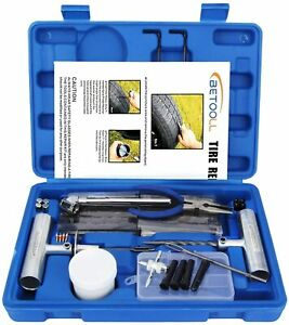 Tire Repair Kit For Car motorcycle atv jeep truck tractor Flat Tire Puncture 67