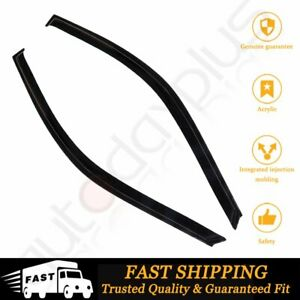 For 2002 2006 Acura Rsx Integra Dc5 Window Vent Visor Rain Guard Directly Pasted