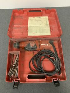 Hilti Te 2 s Rotary Hammer Drill With Case And Extra Drill Bits Works Great