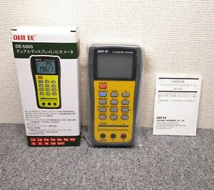 Der Ee De 5000 Fully Automatic And High Accuracy Handheld Lcr Meter