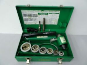 Greenlee 7506 Slug Splitter Hydraulic Knockout Die Set Ss 1 2 To 2 2
