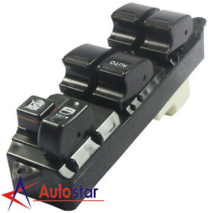 New Electric Master Power Window Switch Driver Side Lh For 2001 2005 Toyota Rav4