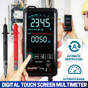 Digital Multimeter Touch Dc ac Professional Analog Tester True Rms Multimetro