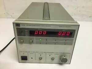 Hp Agilent 6038a Dc Power Supply 0 60v 0 10a 200w Hpib Load Tested