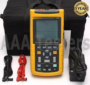 Fluke 123 Industrial Scopemeter 20mhz Handheld Oscilloscope Scope Meter 123 003