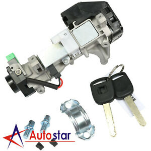 Ignition Switch Cylinder Lock Auto Trans For 2003 2007 Honda Accord With 2 Keys
