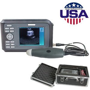 New Veterinary Portable Ultrasound Scanner Machine Kit Pregnancy Animal Dog cat
