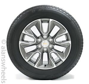 4 New Takeoff Chevy Silverado Rst 20 Factory Oem Wheels Rims Tires Avalanche