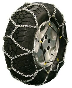Quality Chain Diamond Back rubber Adjuster Style 255 75 16 Truck Tire Chains