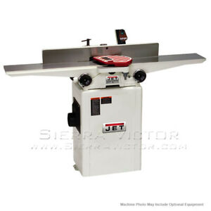 Jet Jj 6hhdx Deluxe Jointer With Helical Head 708466dxk