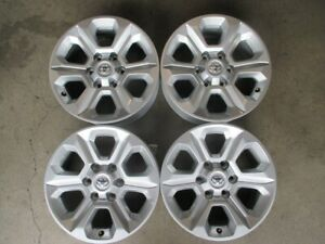 Four 2014 2020 Toyota 4runner Factory 17 Wheels Rims Oem 75153 Fj Tacoma Tundra