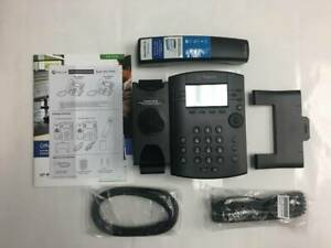 Polycom Voip Sip Phone Vvx301 New Boxed 6 Lines With Original Power Supply