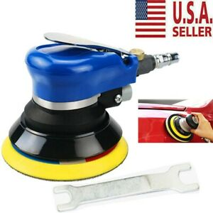 New 6 Air Random Orbital Palm Sander Auto Body Orbit Da Sanding Low Vibration