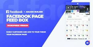 Facebook Page Feed Box Wordpress Plugin Unlimited Use
