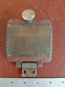 Atlas Mfc Milling Machine M1 52 Cover Plate Mill Speed Chart