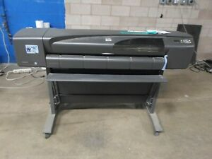 Hp Designjet 800 36 Wide Format Color Printer Ct