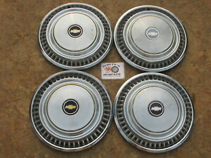 1976 88 Chevy Pickup Truck Blazer Suburban 15 Wheel Covers Hubcaps Set Of 4