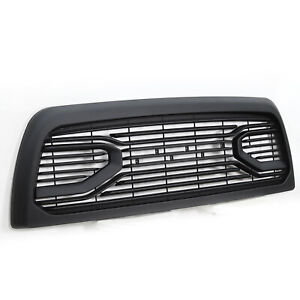 Front Grille Grill For 2010 2018 Dodge Ram 2500 With Letters Big Horn Black