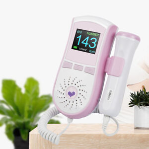 Baby Lcd Portable Detector Fetal Doppler Prenatal Heart Rate Heartbeat Monitor