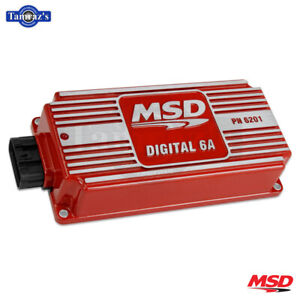 Universal Fit Msd Digital 6a Ignition Control Box Red