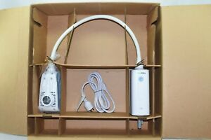 new In Box Welch Allyn Gs 300 General Exam Light W Rolling Stand 44400