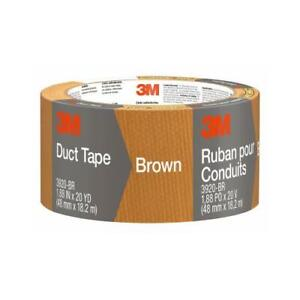 3m Duct Tape Brown 1 88 in X 20 yd