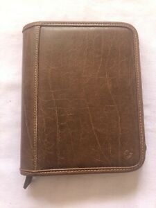 Franklin Covey Brown Leather Binder 1 5 Rings