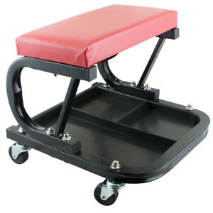 Car Repair Roller Seat Padded Mechanics Roller Creeper Auto Workshop Bench Garag