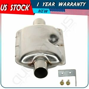 Car Silencer Muffler Stainless Steel For Car Parking Air Diesel Heater Kit
