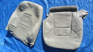 2004 Volvo S80 2 5t Awd Oem Oak Arena Beige Driver Left Side Leather Seat Covers