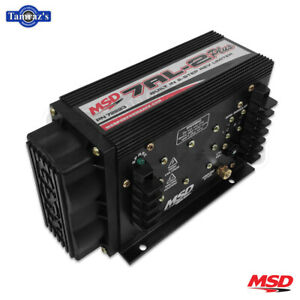 Msd Drag Racing 7al 2 Plus Ignition Control With Rev Limit Black