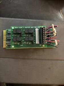 Simplex 4005 4 Pt Idc Zone Expander Card With 4005 Class A Card 565 556
