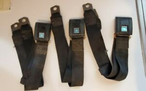 Vintage Oem Irving Ic 4500 Gm Seat Belts 1960s Rare Parts Lot Of 3