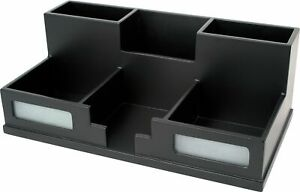 Victor Phone Holder Desk Organizer 6 Compartment s 3 5 Height X 5 5 Width