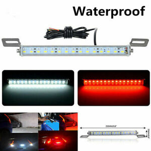 Red White 30 smd Cob Bolt on Led License Plate Lights Brake Backup Reverse Lamps