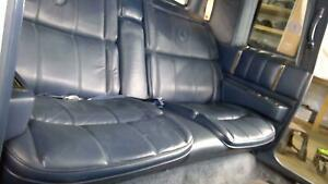 1988 Cadillac Deville Fwd Coupe Rear Seat Assembly Blue 9103