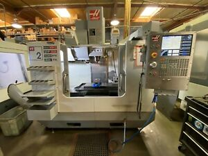 2007 Haas Vf 2 Cnc Vertical Machining Center Mill used 4th Axis Not Included