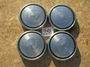 1968 79 Ford F100 Pickup Truck Econoline Van Poverty Dog Dish Hubcaps Set 4