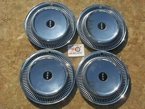 1959 1960 Edsel Ranger Villager Corsair 14 Wheel Covers Hubcaps Set Of 4