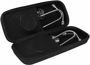 Stethoscope Hard Case Carrying Protective Cover With Mesh Pocket For 3m Littman