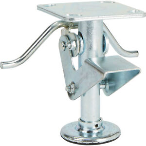 Strongway 6in Floor Lock 900 lb Capacity For Use With 6in Diameter Wheels