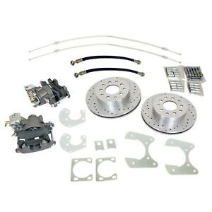 Summit Racing Rear Drum to disc Brake Conversion Kit Sum bk1627 ds