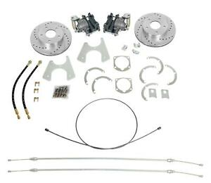 Summit Racing 8 875 12 Bolt Car Gm Rear Drum to disc Brake Conversion Bk1624a ds