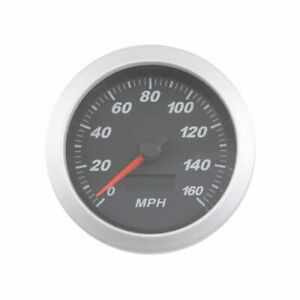 Summit Racing Pro Series Speedometer 0 160 Mph 3 3 8 Dia Electrical G2970